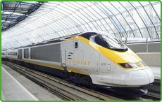 Travel in cofort to the continent onbard Eurostar