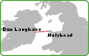 Dun Laoghaire Holyhead Route
