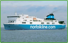 Norfolkline RoRo Ferry Lagan Viking