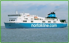 Norfolkline Scottish Ferry Routes