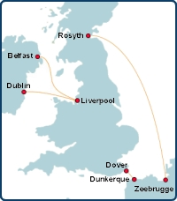Norfolkline Ferry Routes