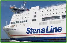 Stena Hollandica on route to Holland