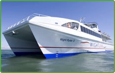 An Isle of Wight Fast Ferry